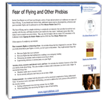 Fear of flying - TFT will help you overcome